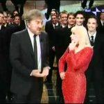 Raffaella Carrà e Gigi Proietti